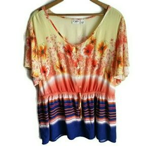 Cato woman top size 18/20W